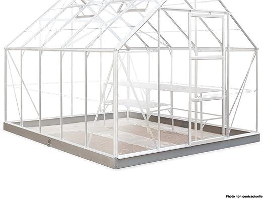 HALLS - Embase pour Serre Supreme 148-11,4m²: Amazon.fr: Jardin