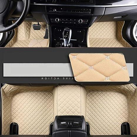 8x Speed Auto Fussmatten For Bmw 5 Series F10 F11 F07 2010 2013 Auto Schutzdecke Volle Abdeckung Autoteppiche Hochwertiges Pu Leder Wasserdichte Beige Auto