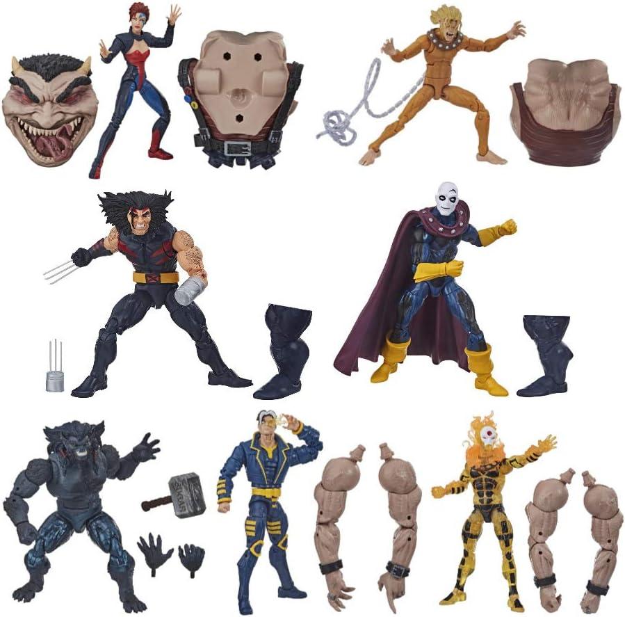 Marvel Legends Series Sugar Man BAF Sunfire Age of Apocalypse Action Figure