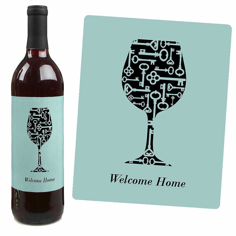 Amazon.com | Home Sweet Home - Wine Bottle Labels Housewarming Gift ...