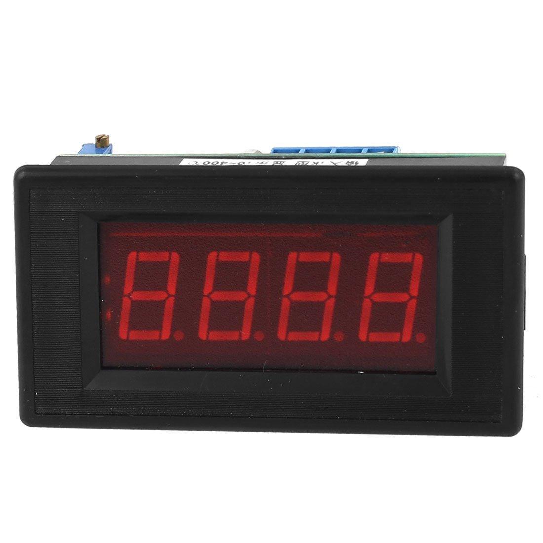 Amazon.com: eDealMax LED Rosso DC5V Esposizione 0-400C K Tipo di schermo termometro termometro: Home & Kitchen