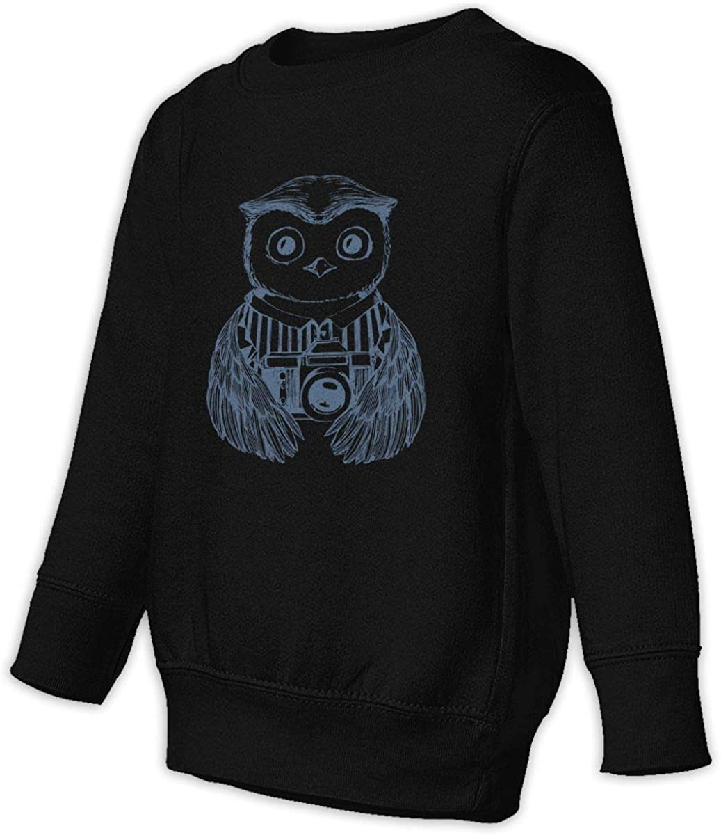 wudici Photographer Boys Girls Pullover Sweaters Crewneck Sweatshirts Clothes for 2-6 Years Old Children