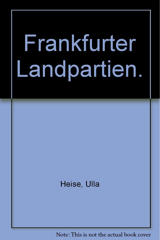 Frankfurter Landpartien