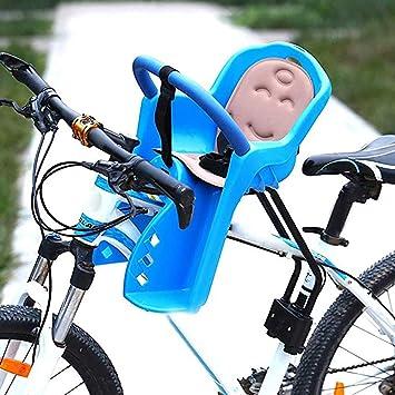 MILEKL Asiento de Seguridad para Bicicleta de Montaje Frontal para ...