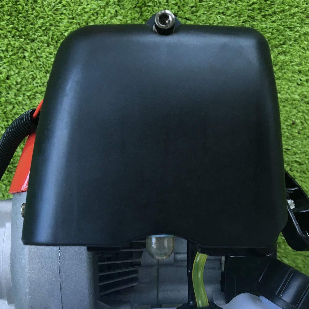 caminar detr/ás de la m/áquina barredora para el c/ésped artificial del c/ésped de la calzada 2.3HP 2 tiempos del motor 52cc Escobilla barredora de limpieza que funciona a gas