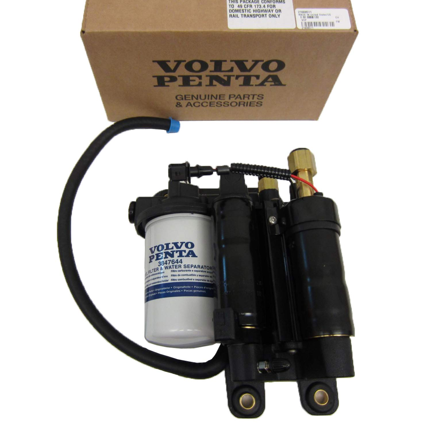 Amazon.com: New Volvo Penta Electric Fuel Pump Assembly 21608511 21545138  4.3L 5.0L 5.7L: Automotive