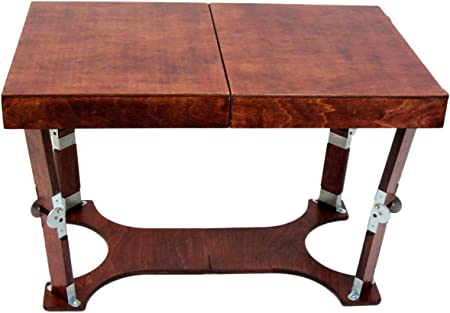 Spiderlegs Folding Coffee Table 28 Inch Mahogany Amazon