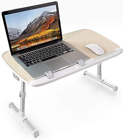 TaoTronics - Mesa de ordenador portátil, plegable, ajustable, para ...