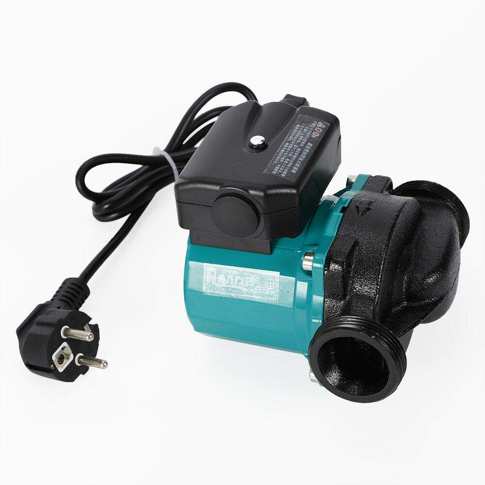 agua caliente, 220 V, 25-60//120 mm HaroldDol Bomba de circulaci/ón de alta eficiencia