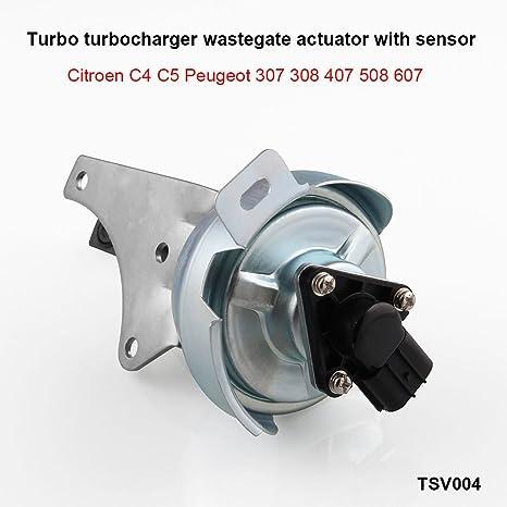 Ruien Turbo turbocompresor wastegate actuador con sensor 753556 – 0002,756047 – 0002 para Citroen