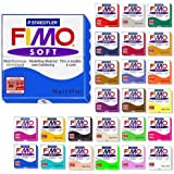 Fimo Soft Starter Pack 12 x 56g Multicolour Blocks