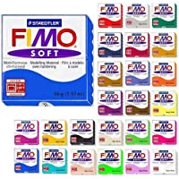 Fimo Soft Starter Pack 12 bloques de 56 g multicolor de Steadtler