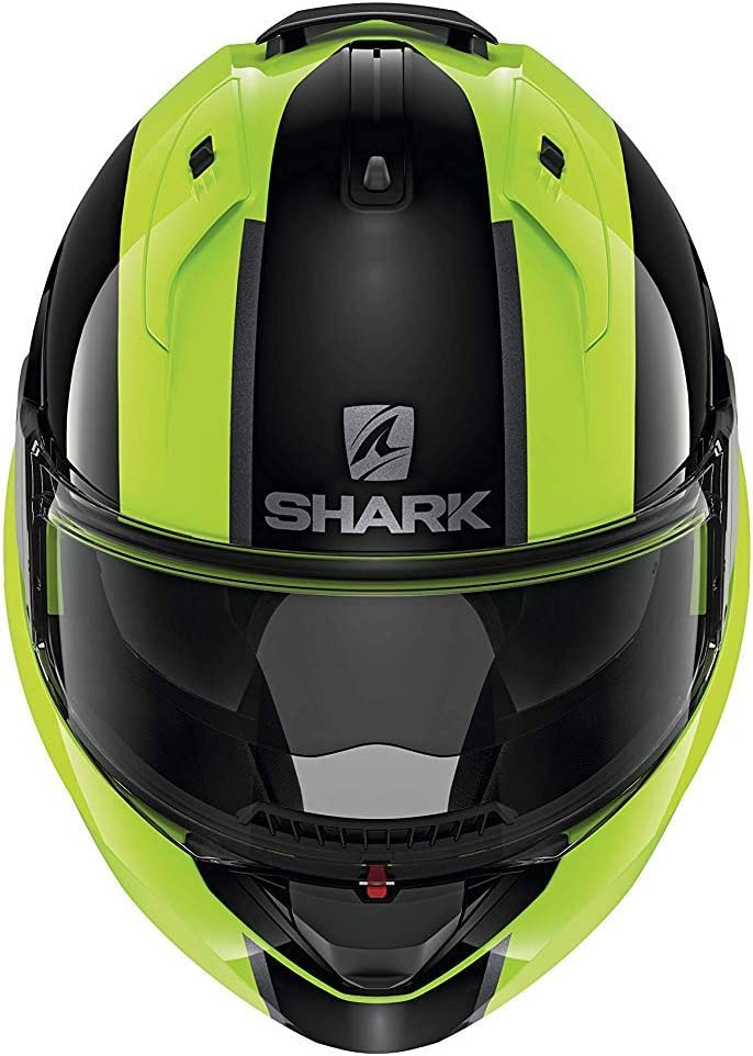 M Black//Yellow Motorcycle helmets Shark EVO ES ENDLESS YKS