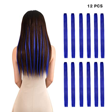 Amygirl 22 100g Blue Straight 12 Pieces Party