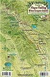 Napa Valley Wine Grapes Map & Guide Franko Maps Laminated Card