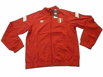 Umbro Perú Oficial Equipo Nacional de fútbol y Chaqueta de chándal Pantalones (tamaño: Large): Amazon.es: Deportes y aire libre