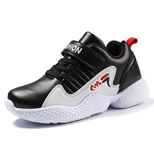 Zapatillas Deportivas para niños Zapatillas para Correr con Velcro Niños Chicas Zapatillas Antideslizantes con Suela Gruesa