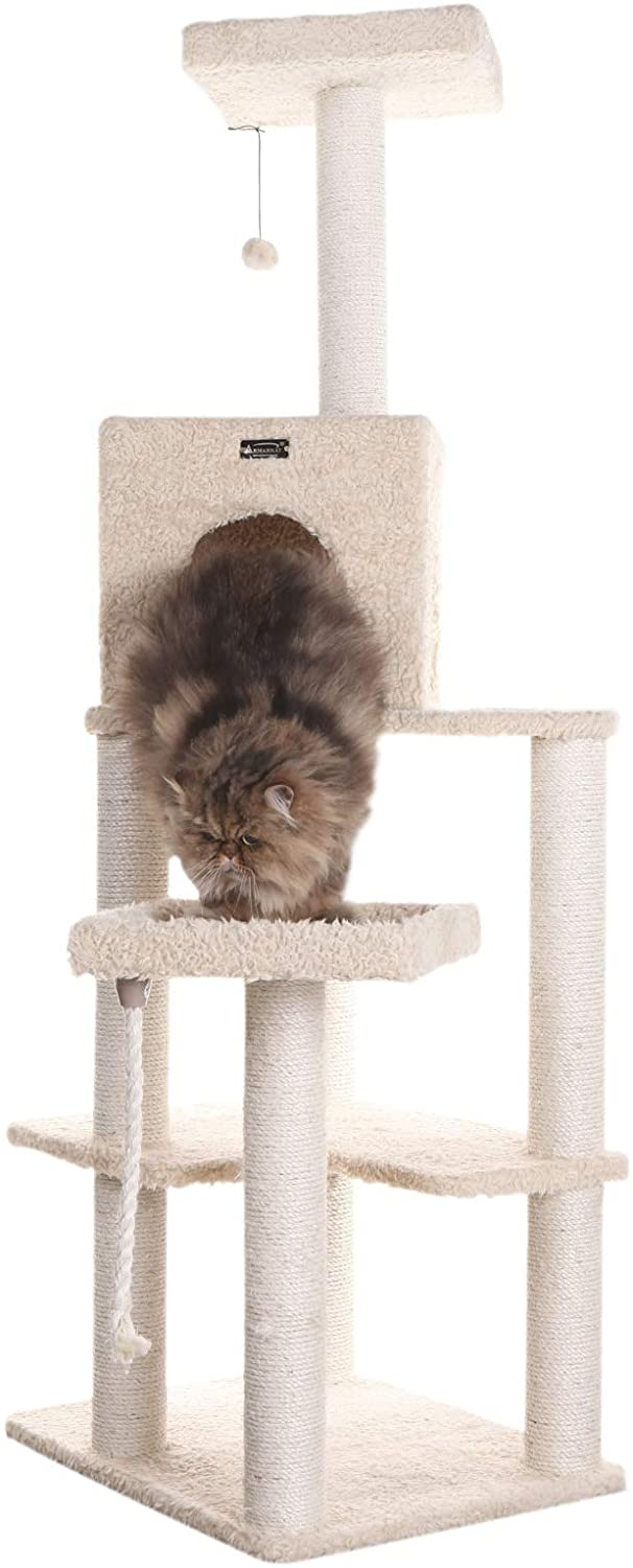 Armarkat Classic Cat Tree, Beige, 69