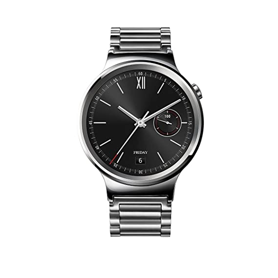 Huawei Watch Stainless Steel With Stainless Steel Link Band U S Warranty