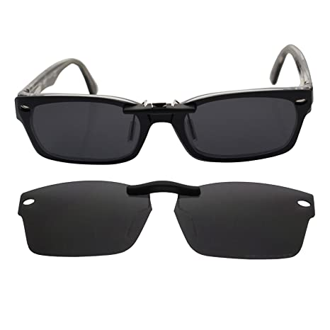 2ebafab1917fb Image Unavailable. Image not available for. Color  Custom Polarized Clip On  Sunglasses for RAY-BAN ...