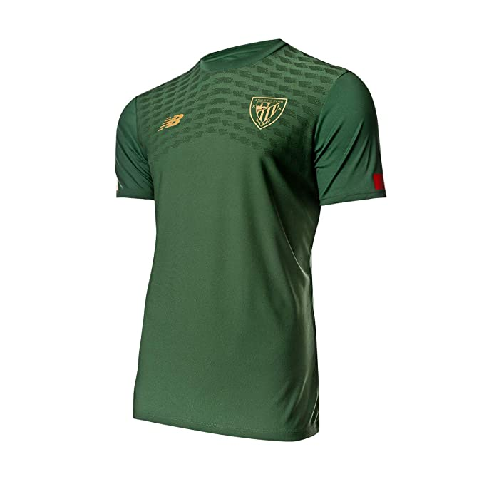 New Balance AC Bilbao Game 2019-2020, Camiseta, Green, Talla XXL ...