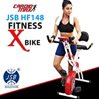 Cardio Max JSB HF148 Fitness Bike Exercise Cycle for Weight Loss at Home (X-Bike)