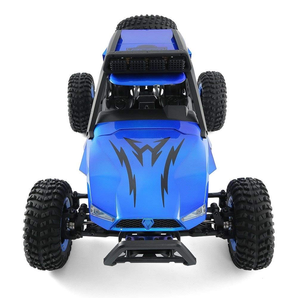 TBFEI 1/12 All Fields Drift RC Racing Car RTR Toy Christmas Birthday Dream Gift for Children and Adults-38.52318cm 4WD 45Km/k High Speed RC Violent Off-Road Racing (Color : Blue) by TBFEI (Image #3)