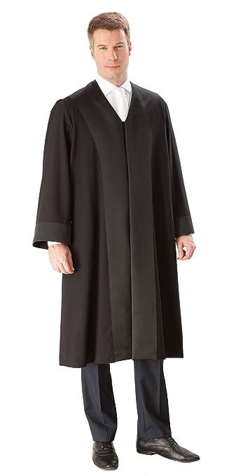La Robe – Principiantes/Abogado Robe para Hombre Negro 100 ...