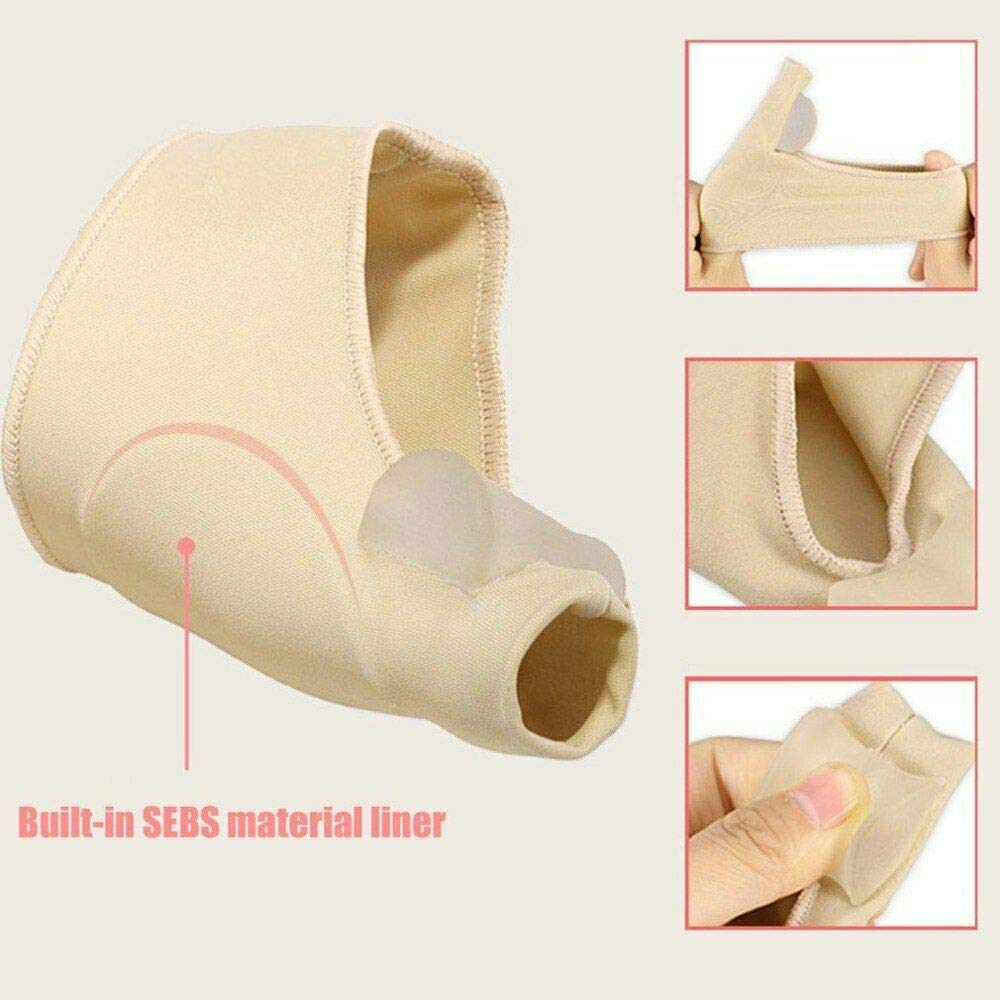 Clothful  2 Pair Healthy Leg Recommended Thumb Valgus Toe Separator Relief Corrector Pad by Clothful (Image #2)