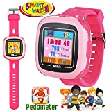 Kids Game Smart Watch - Symfury Smartwatch for Boys Girls Toddler with Pedometer Camera Alarm Clock Stopwatch 1.5'' Touch GPS Activity Fitness Tracker Children Sports Watches Learning Toys 3-12 Years