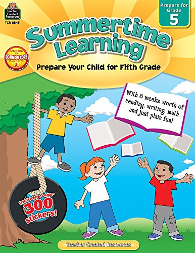 Summertime Learning Grd 5