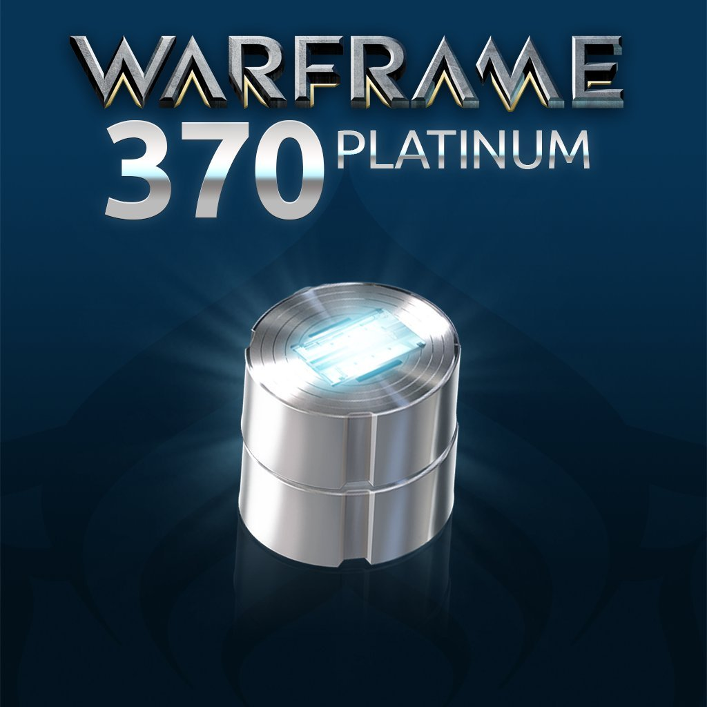Warframe: 370 Platinum - PS4 [Digital Code]