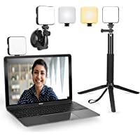 Light for Video Conferencing - Video Conference Lighting Kit with Stand Tripod - Cube Laptop Computer Webcam Light for…