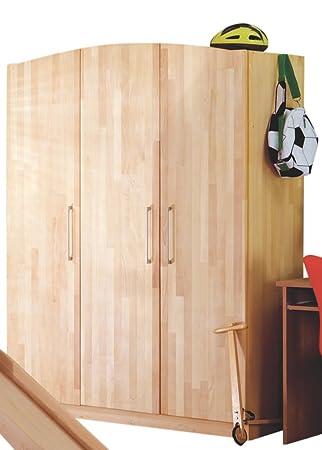 Relita BZ1532318-DT 3-Türer-Kleiderschrank Babyzimmer LUNA Buche ...