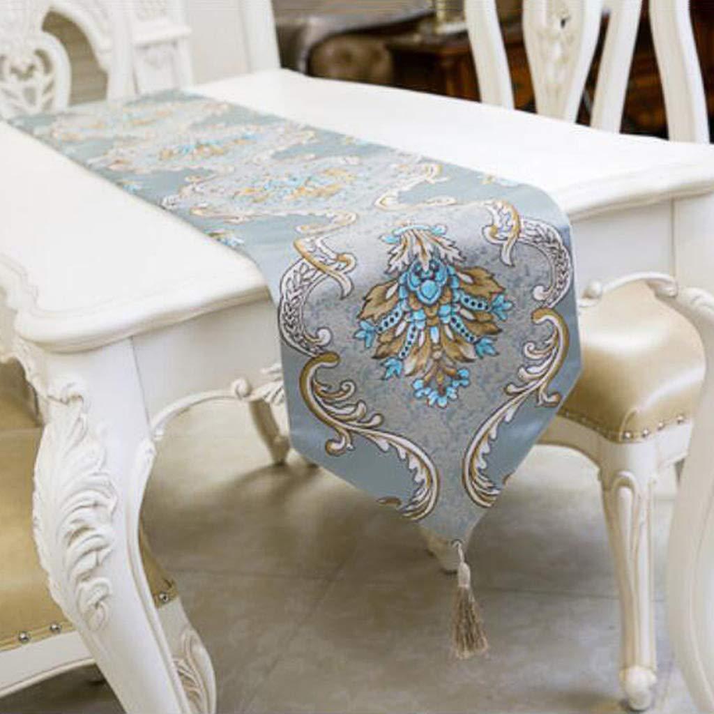 JJSP Tischfahne klassischen Retro Couchtisch Tischdecke Stickerei Tischfahne 32  160cm32  250cm (größe   32  200cm (150 Tables)) B07K7JV4JY Tischdecken Adoptieren  | Für Ihre Wahl