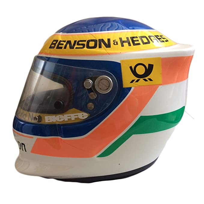 Amazon.es: Casco Jarno Trulli Formula 1 F1 Original de Colección BIEFFE Talla L homologado Dot introvabile