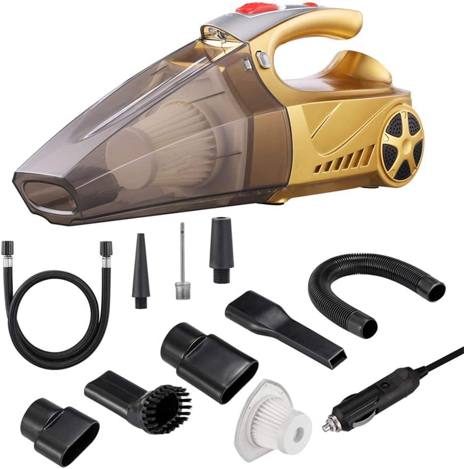 KAILUN Handheld Car Vacuum Cleaner, High Power DC 12v