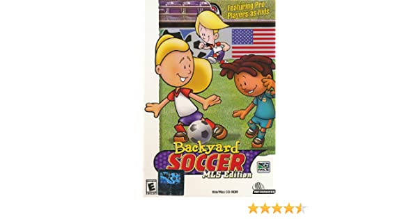 Amazon Com Backyard Soccer Mls Edition Software