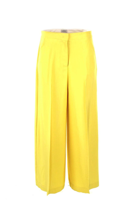 PINKO Black adottato Pantalone 1g141l 7388t60 green oliva a9e Size 42 Spring Summer