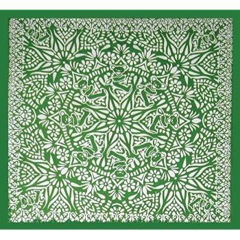 Amazon Com Grateful Dead Bear Mandala Tapestry 60x60