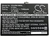 High Capacity Cameron Sino 7300mAh Li-Polymer Replacement Battery for Apple iPad Pro 9.7, A1673, fits Apple A1664