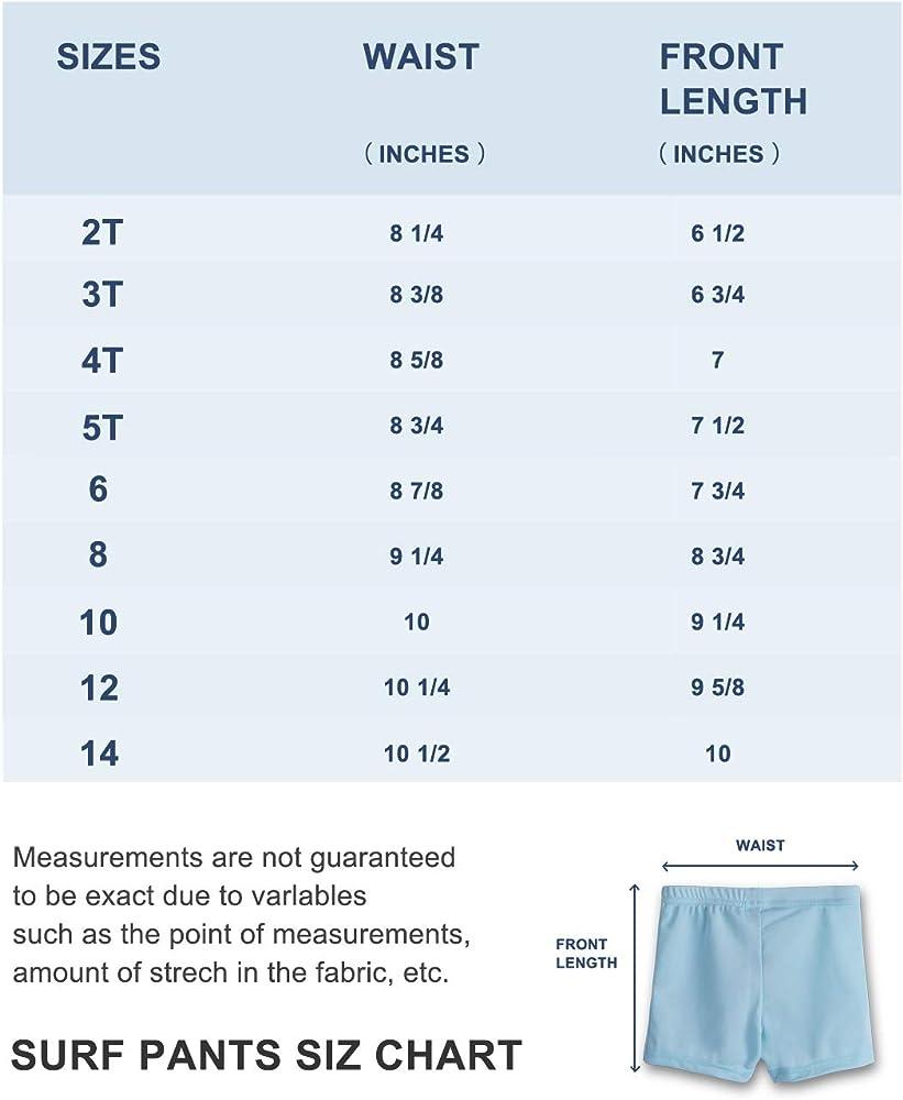 Rash Guard Surf/&Sport Remeetou Girls Swimming Bottom Shorts UPF50