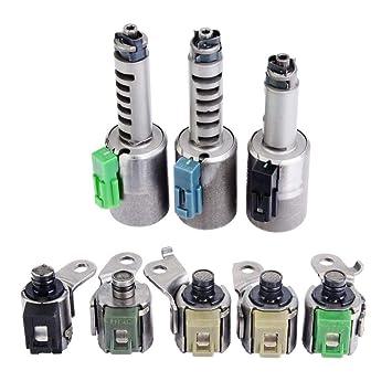 Piezas del Coche de la Válvula Solenoide del Control de Cambios de la Transmisión del Solenoide de la Transmisión para AW55-51SN AW55-50SN: Amazon.es: Coche ...