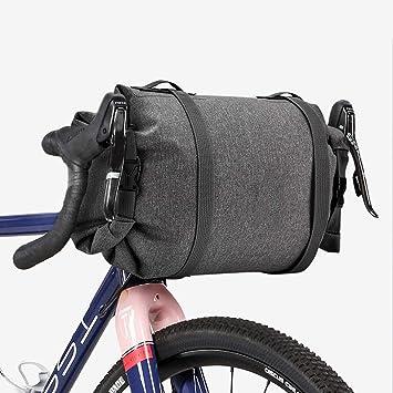 Bolsa Manillar Bicicleta Impermeable Pannier Multifuncional Gran ...