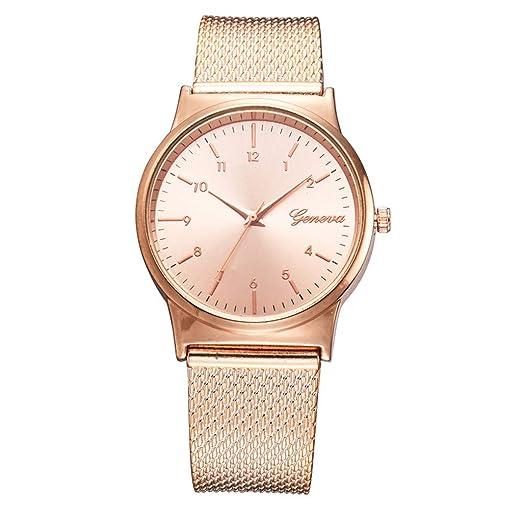 VEHOME Cuero clásico - Ms. Reloj de cuarzo-XR3136-Relojes Inteligentes relojero Reloj reloje de Pulsera Marcas Deportivos: Amazon.es: Relojes