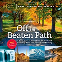 Book cover: Off the Beaten Path by Reader's Digest
