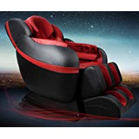 MCombo Domestic Luxury Systemic Massage Chair 0008 (Black&Red) + $6.20 Sears Credit