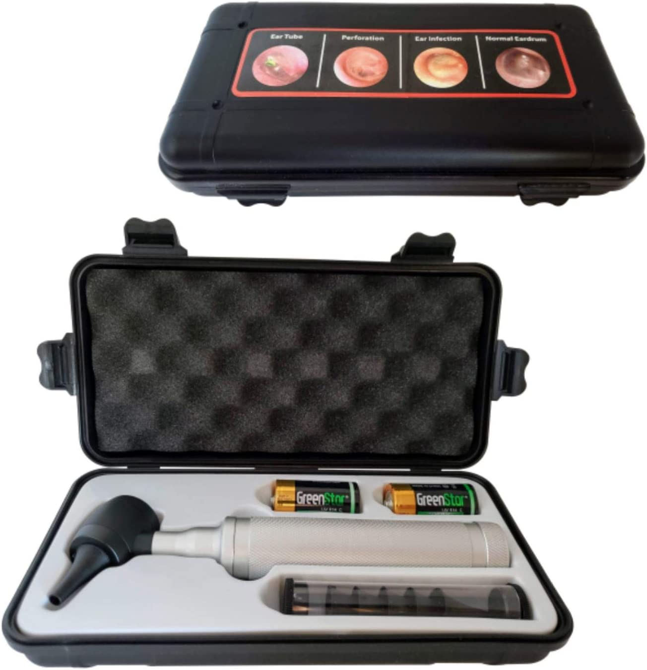 5th Generation Dr Mom Professional Otoscope - 100% Forever Guarantee  - Full-Size with Our Largest Lens