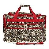 World Traveler Leopard, Red Trim Leopar