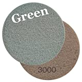 Viper Floor Maintenance Pad, 27-Inch, Green 3000 Grit, Pack of 2 (60664)